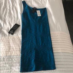 Teal Bebe dress NWT